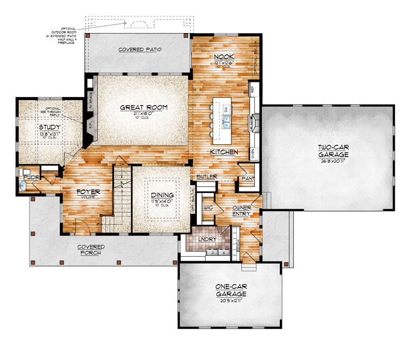 leadville model floor plan