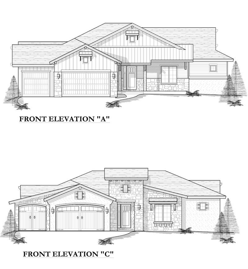 manitou model elevation options