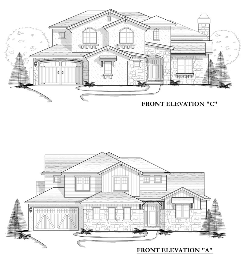 maybell model elevation options