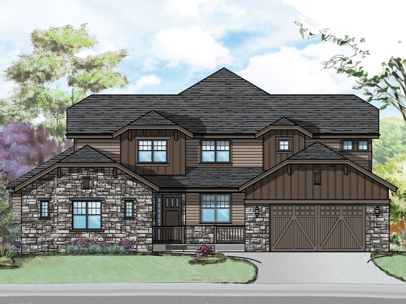 paonia model plan by sopris homes