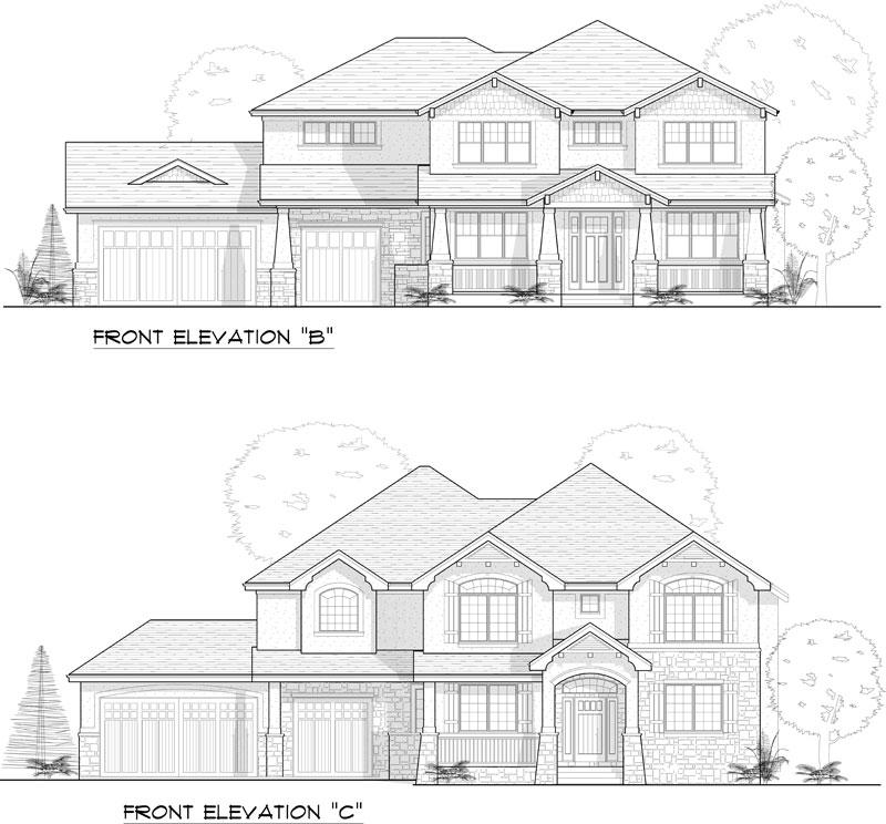 westcliffe model elevation options