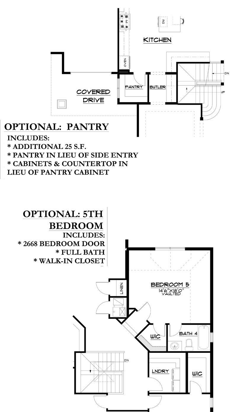 westcliffe model floor plan options