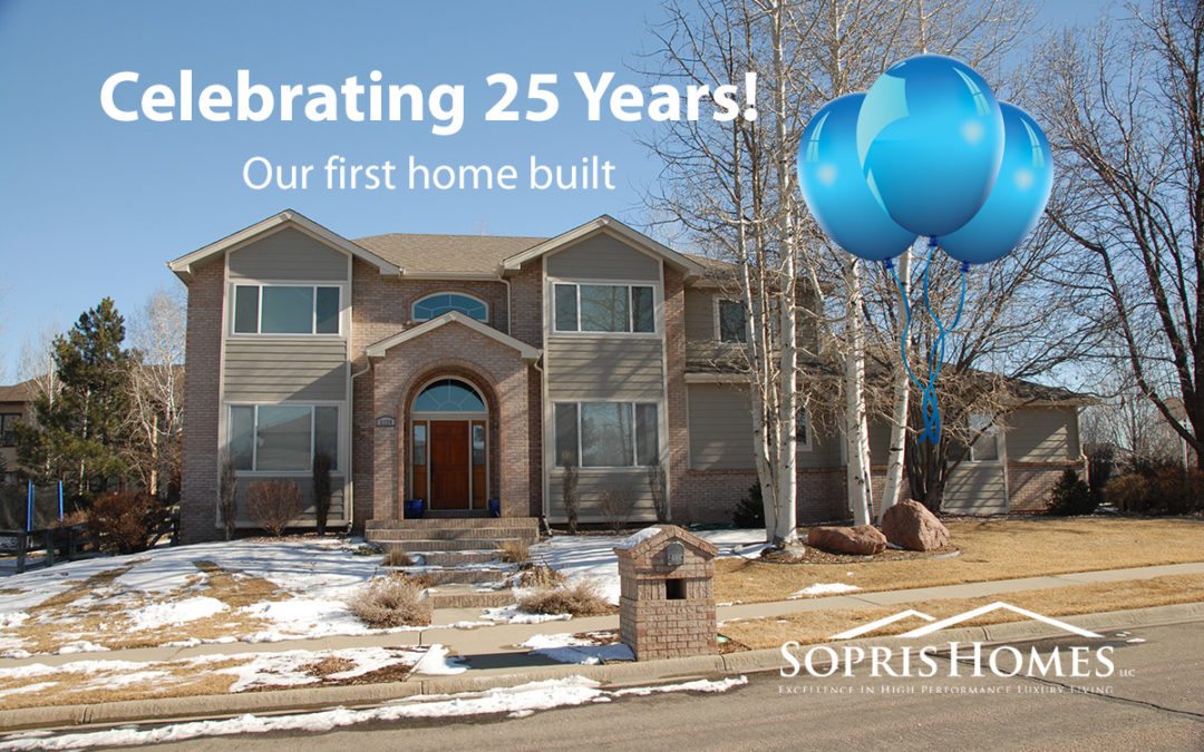 25 years of sopris homes