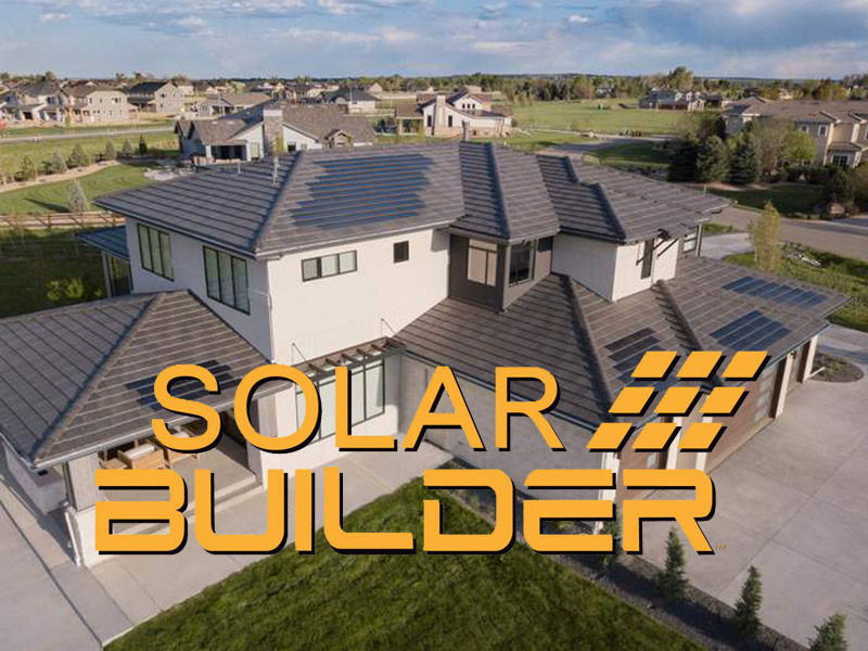 Sopris featured in Solar Builder Magazine for new net-zero build