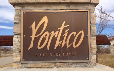 One remaining lot at Portico