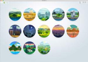 World Menu-Sims 4-SheriGR