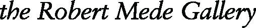 The Robert Mede Gallery Logo