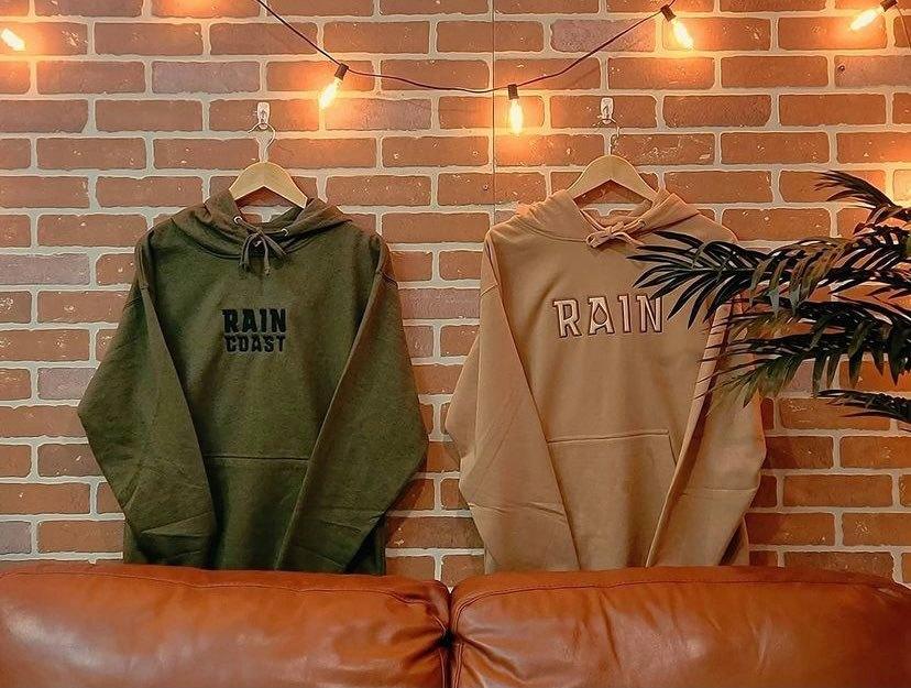 rain coast canada hoodies