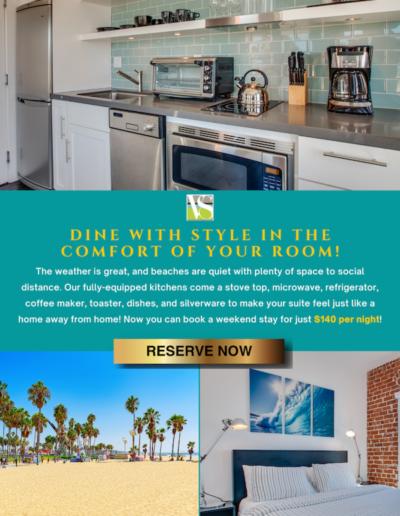 Email Example, Venice Breeze Hotel at Venice Beach, CA