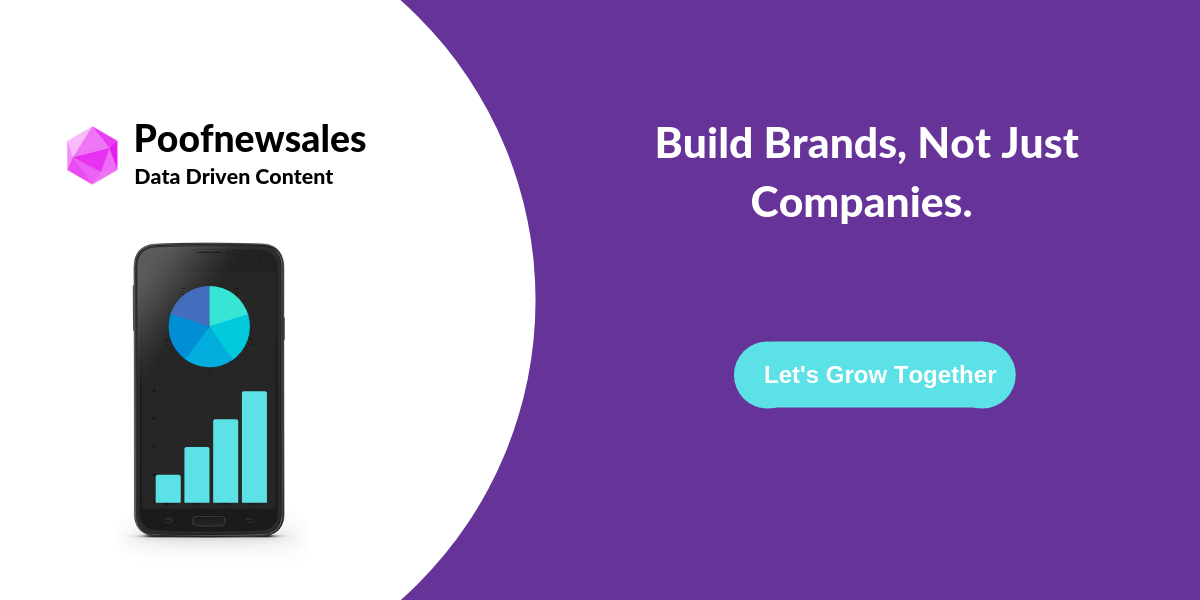 work with poofnewsales vc partnership