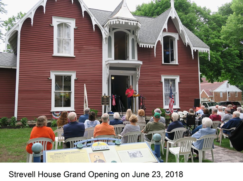 Strevell house grand opening with caption--less than 2mb