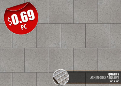 Ashen Gray Abrasive Quarry