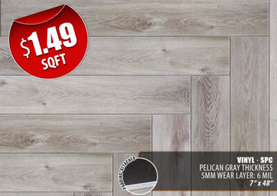 Pelican Gray Vinyl