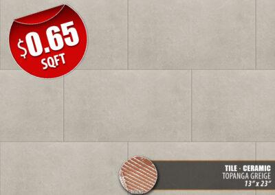 Topanga Greige Ceramic Tile