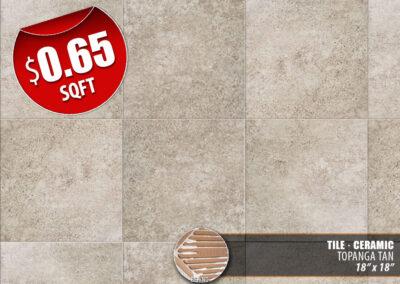 Topanga Tan Ceramic Tile Big Size