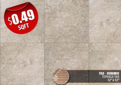Topanga Tan Ceramic Tile