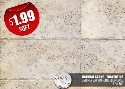 Umbria Savera Chiseled Edge Natural Stone Big