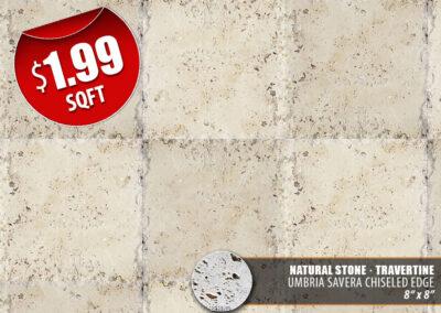 Umbria Savera Chiseled Edge Natural Stone