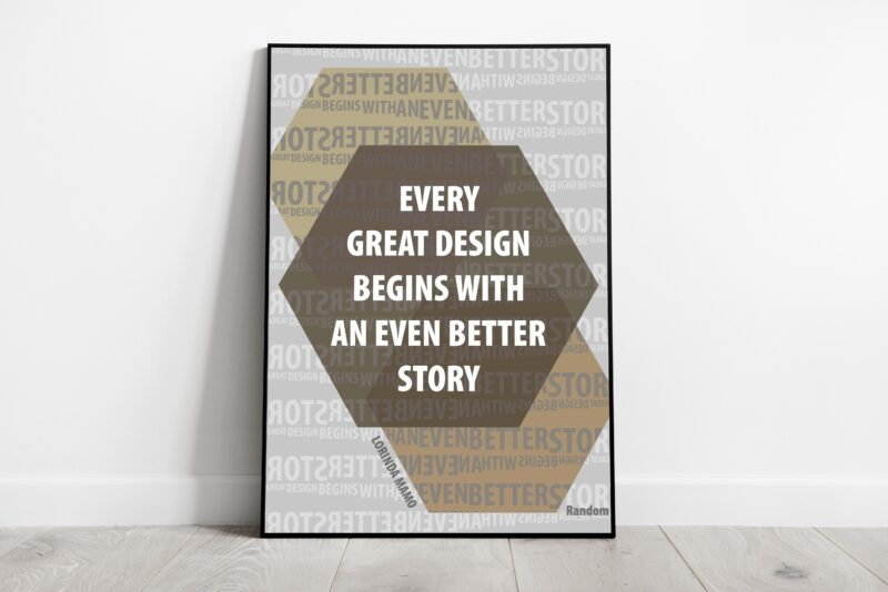 Quote Poster Series