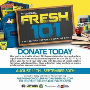 Fresh 101 - CityWide Mentoring and Tutoring