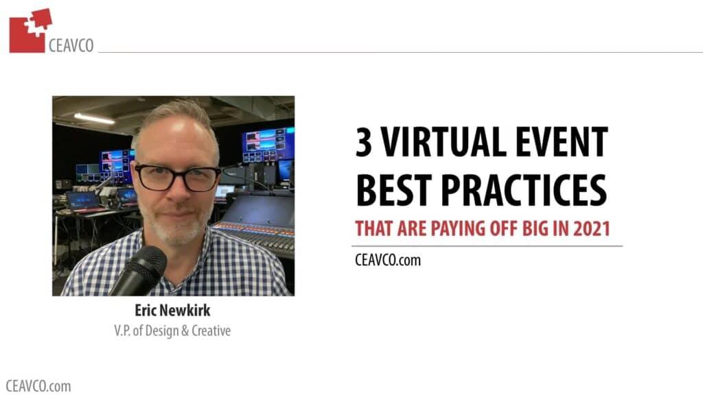 Webinar: 3 Virtual Event Best Practices