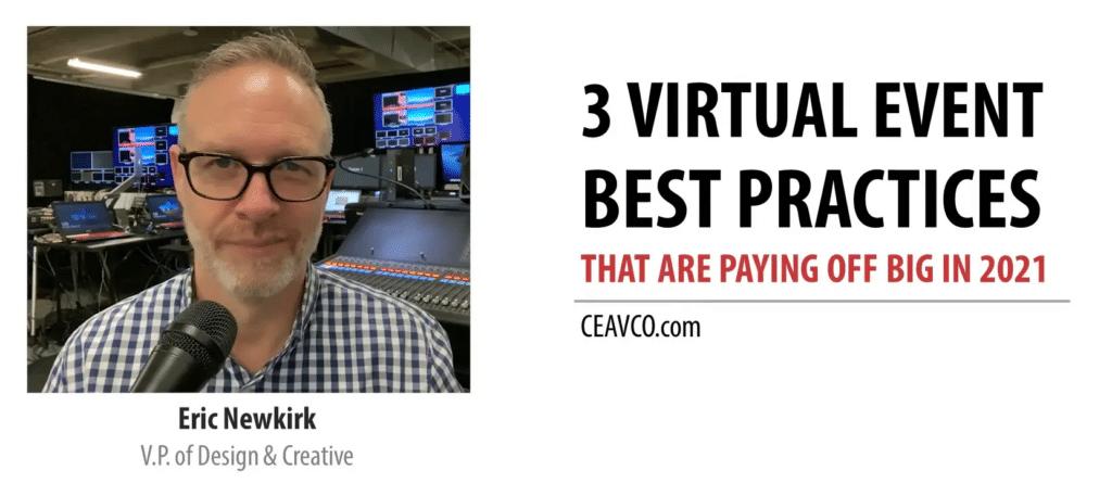 Webinar - 3 virtual best practices
