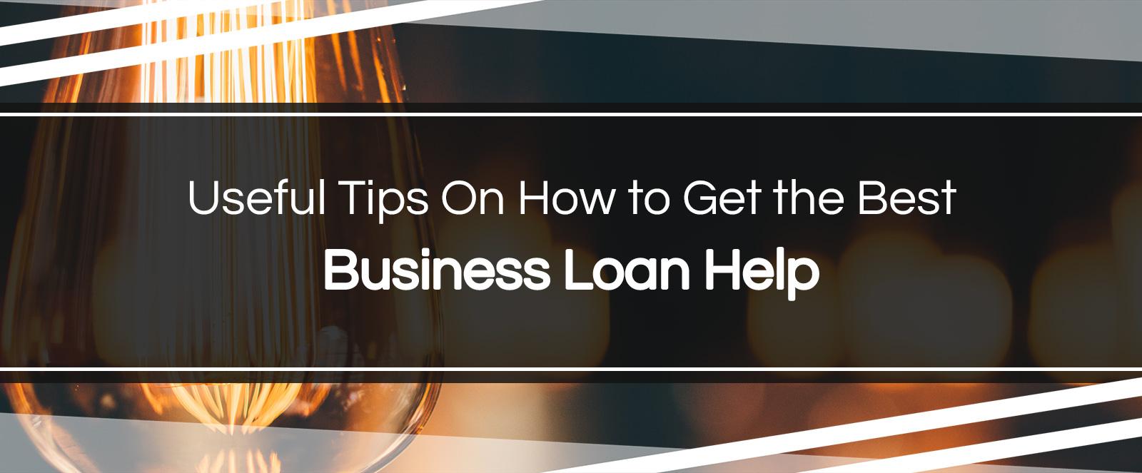 business loan help