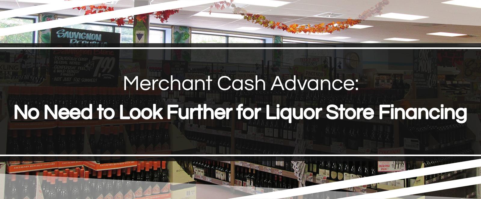 liquor store financing