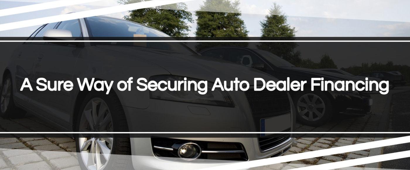 auto dealer financing