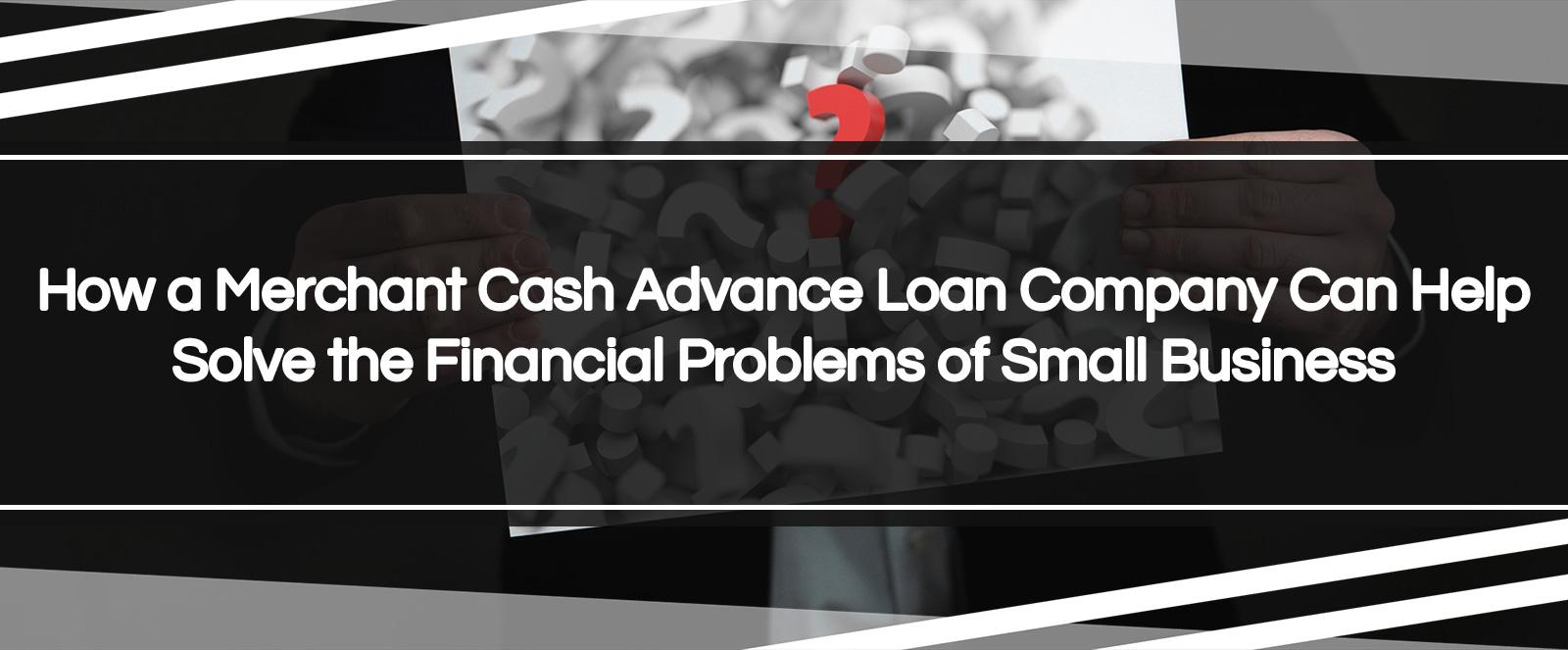 cash advance loan company