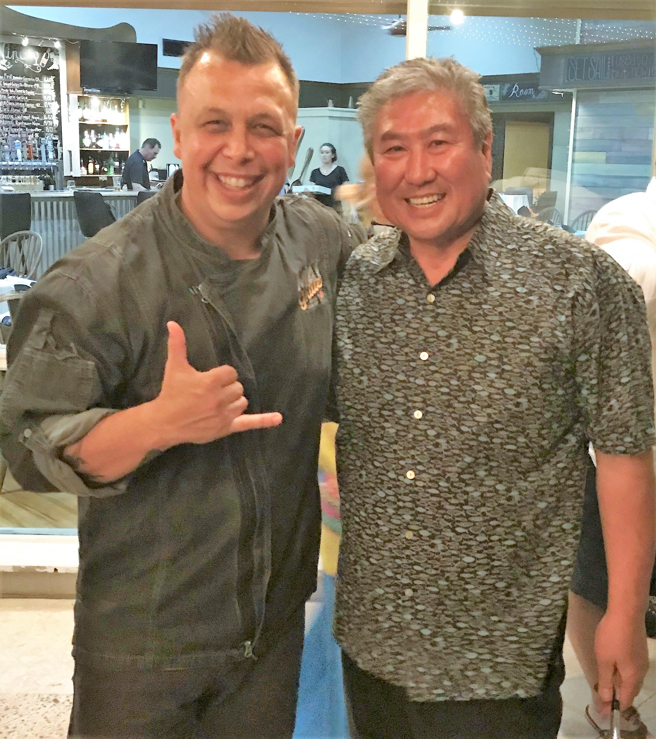 allen hess and alan wong best hawaii chefs