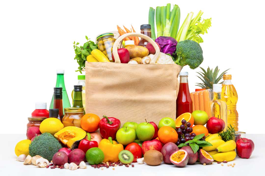 Fruit and vegetables for eye health