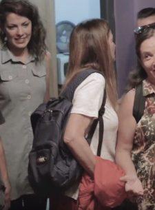 Igualitos junto a Sandra Mihanovich y Orozco Barrientos
