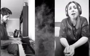 """Every time we said good bye - Lorena Miranda y Pablo Moltisanti, grabación """"Mendoza desde Casa"""""""