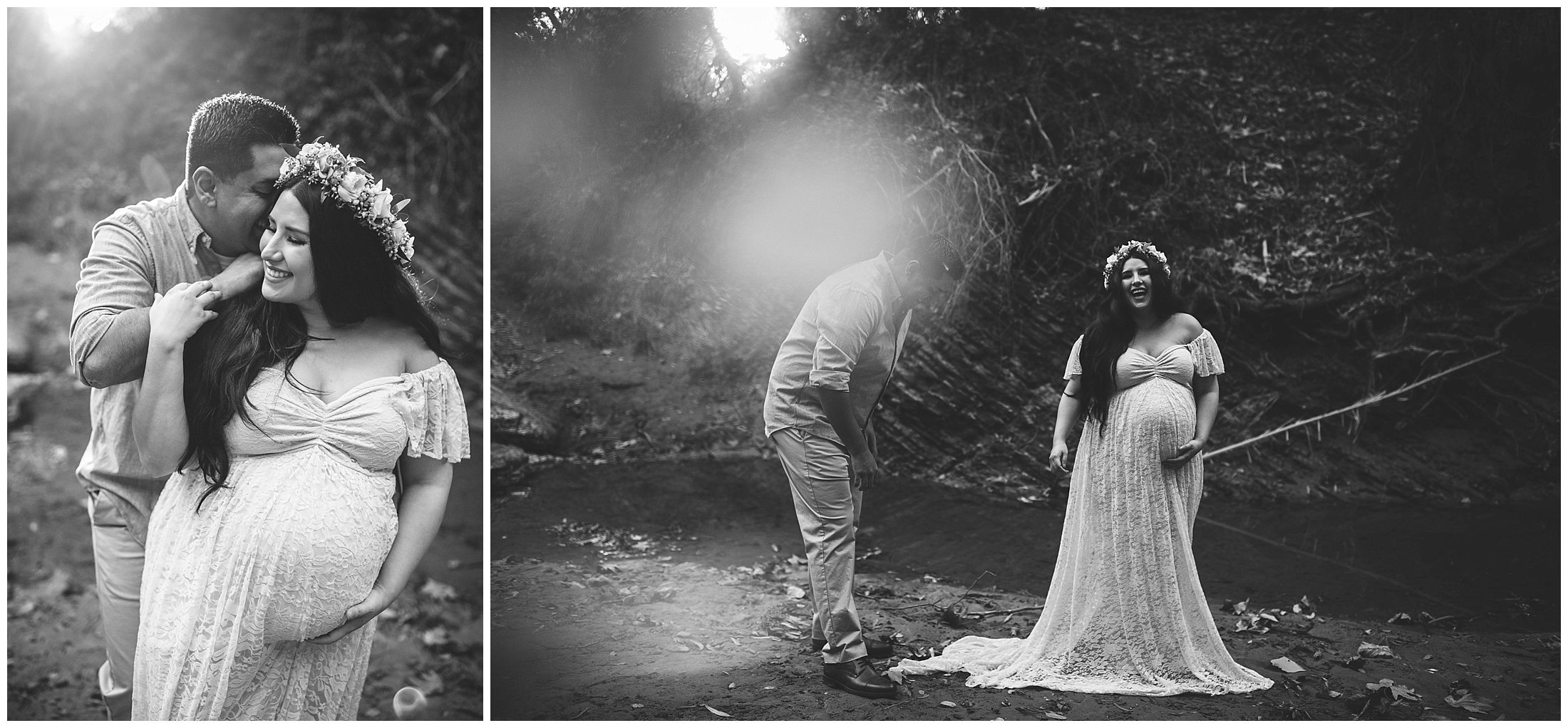 Black & White Maternity by Lomonico Photography