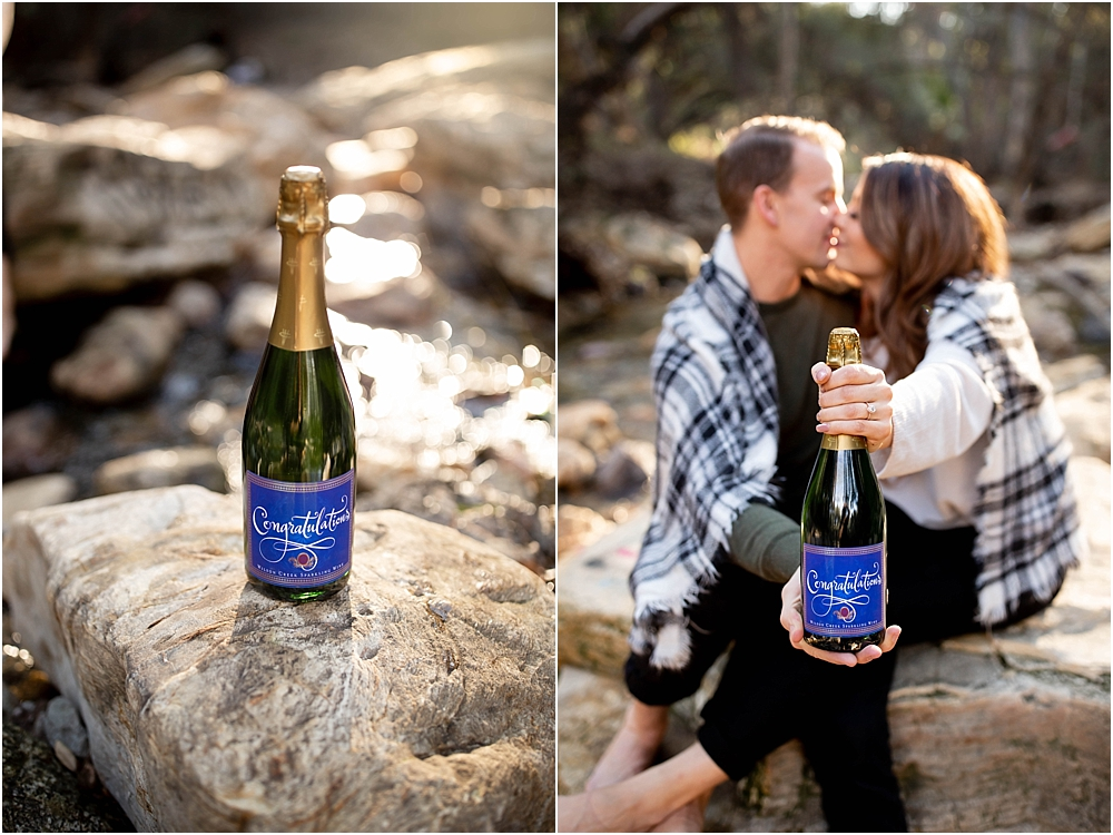 Champagne toast wilson creek almond champagne