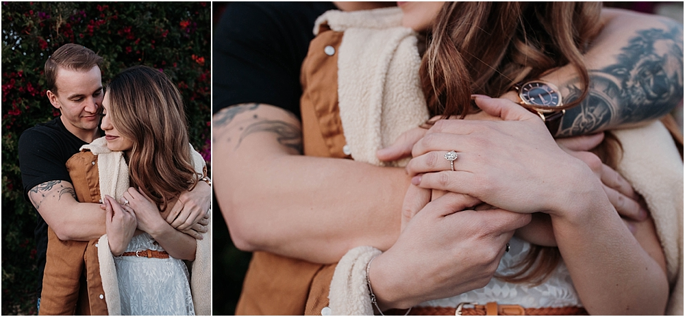 cuddles engagement ring