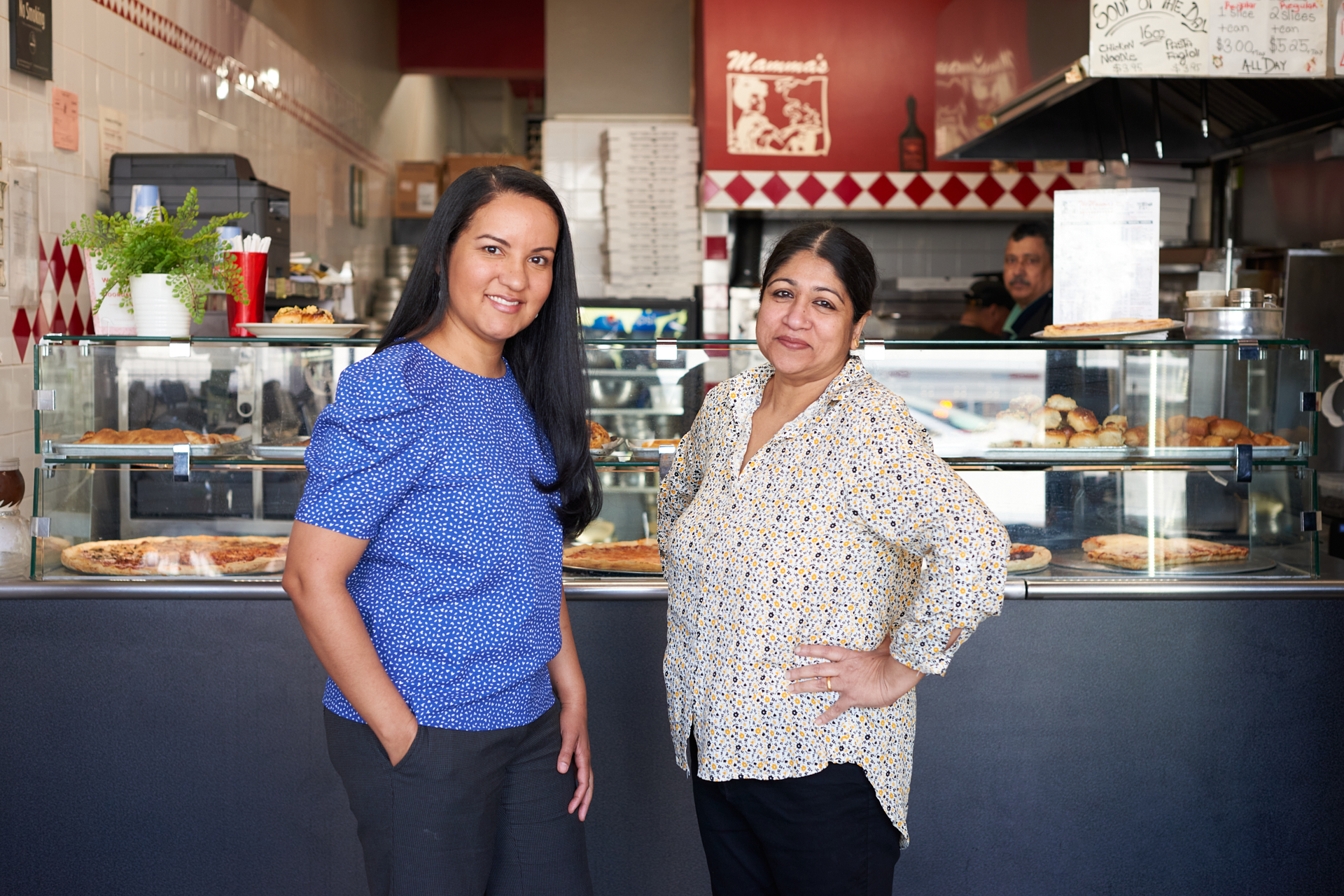 A Queens Small Business Grant helped Mamma's Pizza in Queens