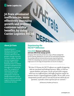JA Frate Case Study
