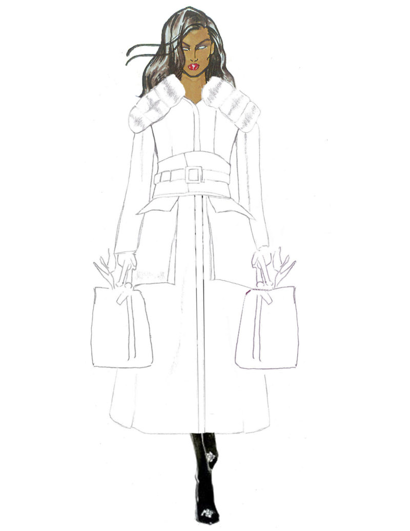 Willow Leather Sketch