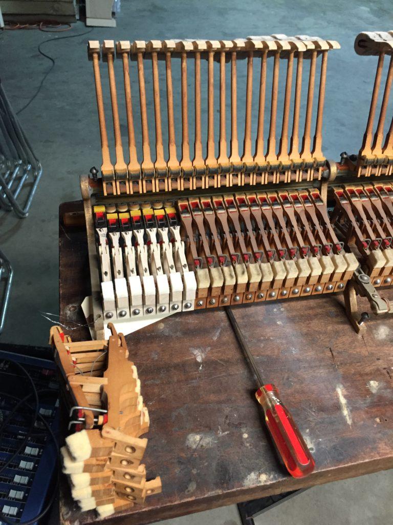 Steinway Piano Action Rebuilding