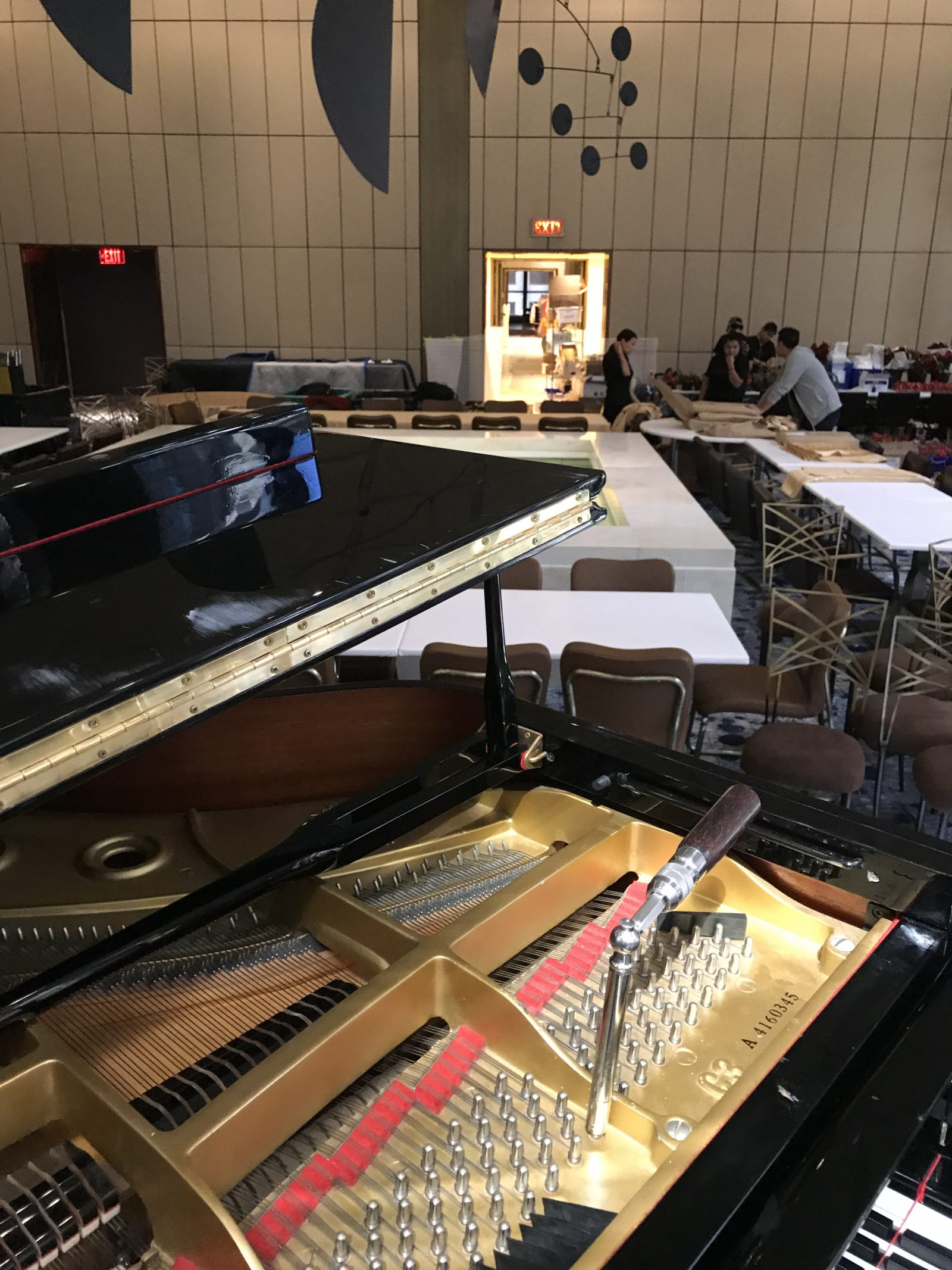 Piano Tuning Concert Hall