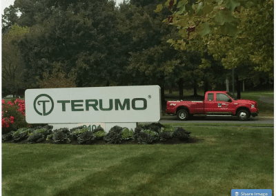 Terumo company sign