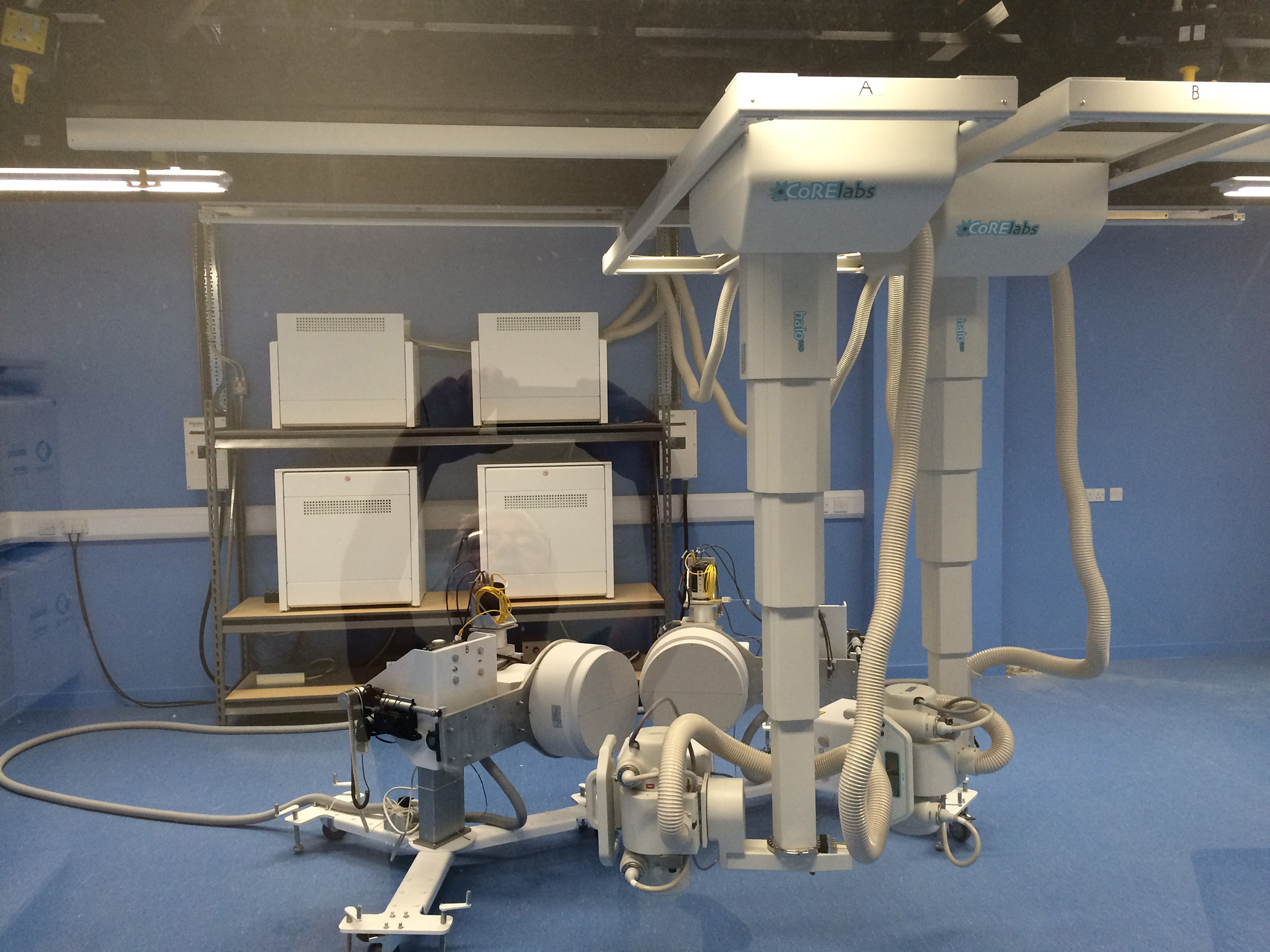 Biplanar X-Ray Imaging System for Motion Research