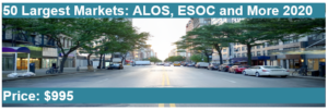 50 Largest Markets: ALOS, ESOC and More 2020