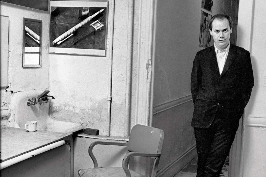 Richard Prince in his New York studio in the 1980s