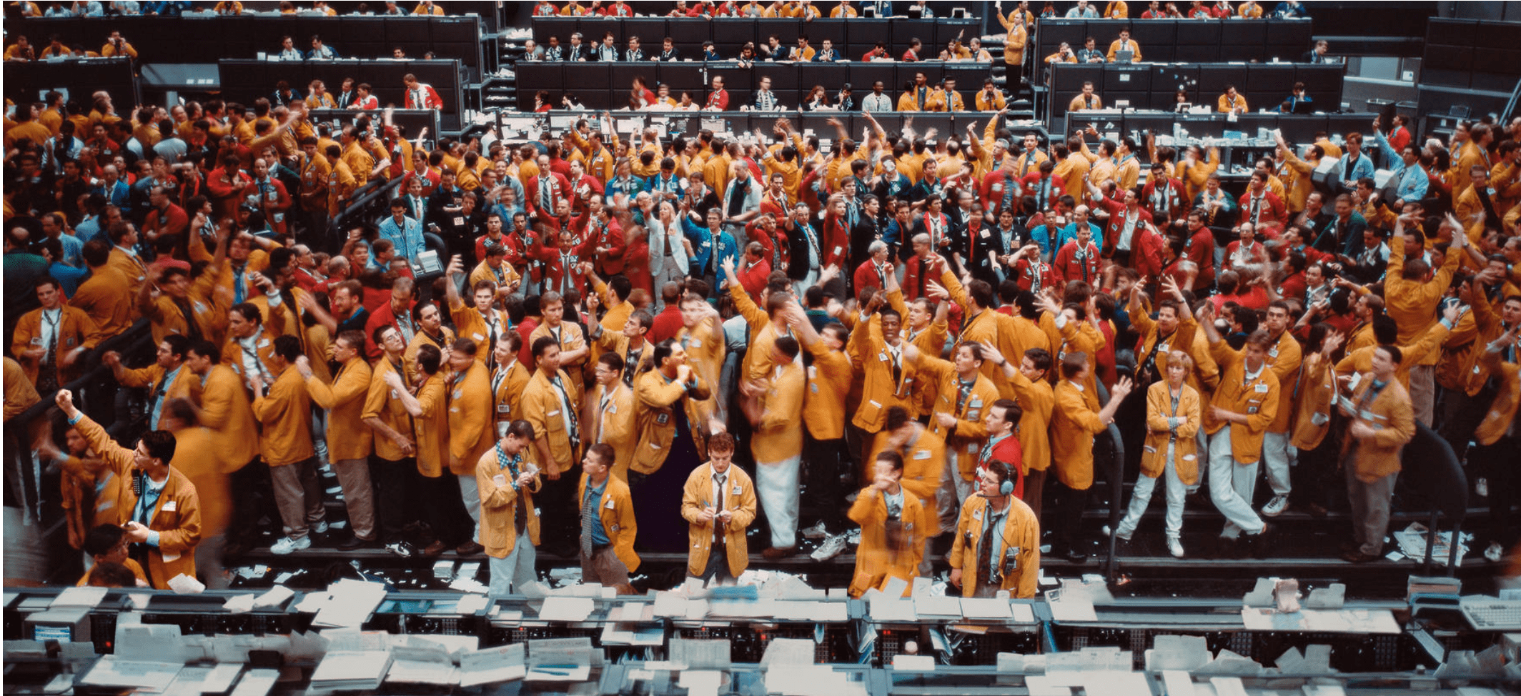 Andreas Gursky: Stock Exchanges