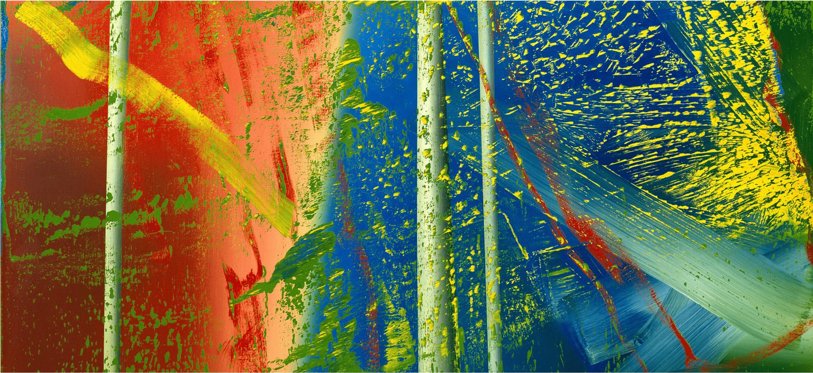 Gerhard Richter: Abstraktes Bilder