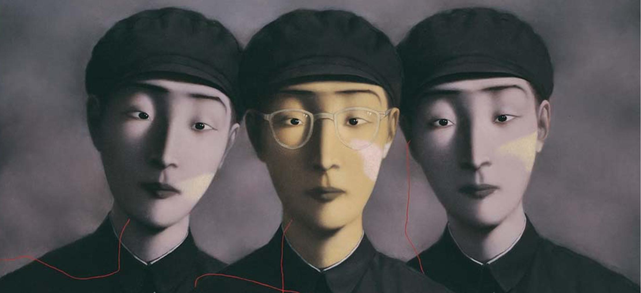Zhang Xiaogang: Early works in Australia