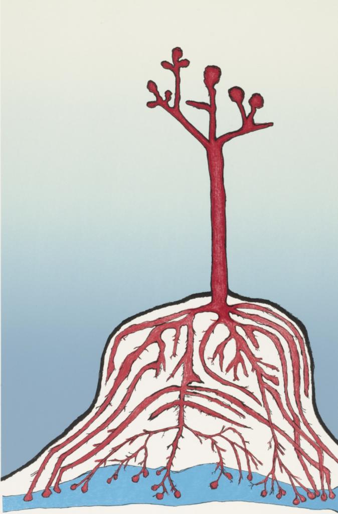Louise Bourgeois - The Ainu Tree (1999)